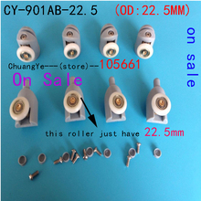 8* Shower rooms cabins & shower room roller 22.5mm  ( a set 8pcs free shipping ) On sale