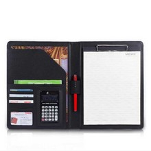 Free shipping A4 multi-function business office dedicated folder sales manager clip/signing this contract carpetas pasta escolar(China)