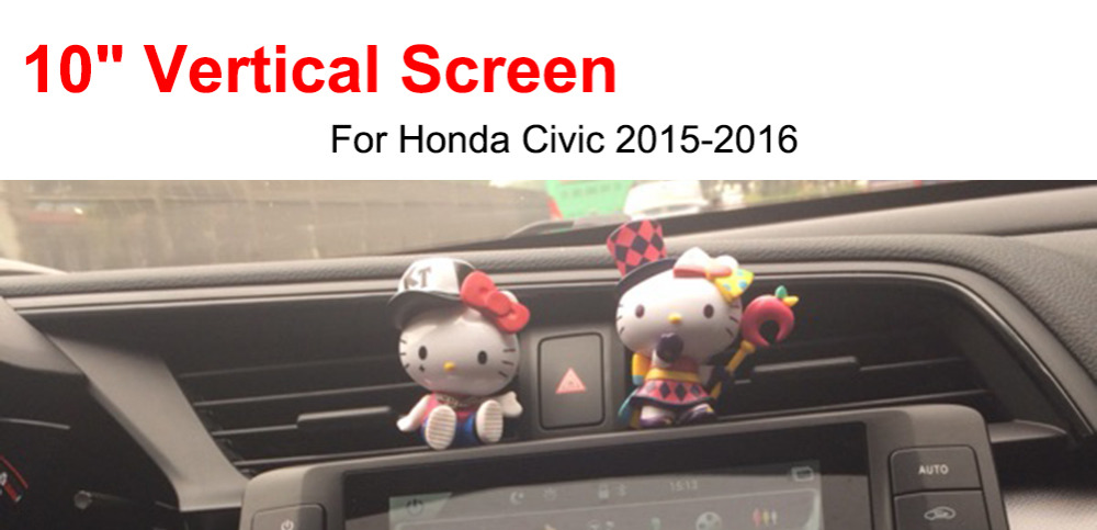 car dvd for honda civic installed