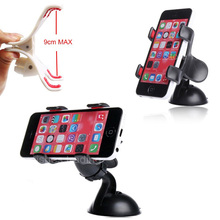 Car Auto Mobile Cell Phone Windshield Window Dashboard Stand Holder for Cellphone/Sony xperia xz/xa/z3/z2/compact/Doogee x5 max