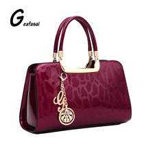 gold burgundy red blue stone Leopard Print PU leather ladies saffiano boston top handle tote handbag Bag for women lady feminina