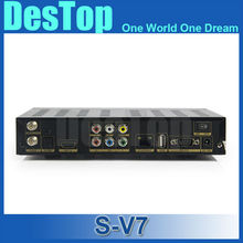 NEW 10PC/LOT Original S V7 S-V7 S V7 Dual-Core CPU, 600MHz MIPS Processor Ali3511 Main chipset Digital Satellite Receiver
