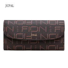 New Fashion Free Shipping Top-Quality Monogram Genuine Leather wallet Women Fashion Purse(China)