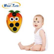 4Pcs/Lot Baby Health Safety Care Medical Thermometers Digital No Mercury Body Fever Forehead Sticker Thermometer For Children