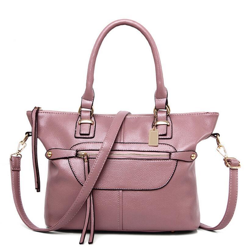 Limited Edition 2017 women handbag fashion zipper tassel patchwork women shoulder bag saddle bag<br><br>Aliexpress