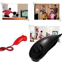 Game consoles Wired Vibration Shock Game Controller left gaming Nunchucks for PC & Laptop Nintendo Wii