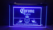 b44 Corona Mexico Beer Bar Pub Club 3d signs LED Neon Light Signs