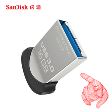 SanDisk USB 3.0 Flash Drive 128GB 64GB 32GB 16GB 8GB Pen Drive Disk Pendrive Flashdisk with MicroUSB TypeC USB 1Phone Adapter(China)