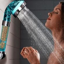 Healthy Negative Ion SPA Filtered Adjustable Shower Head Three Shower Mode Negative Lon SPA Shower Head