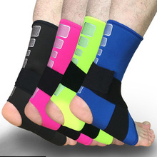 1PCS Sports Safety Ankle Support Strong Ankle Bandage Elastic Brace Guard Support Sport Gym Foot Wrap Protection