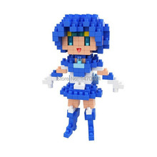 One piece 2015 New Wholesale BOYU Diamond Blocks Sailor Mercury Series Mini Blocks Building Toys Educational Toys Children 8124(China)