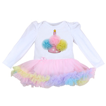 0 3 Months First Birthday Girl Tutu Set Newborn Clothing Baby Girl Dress Formal Infant Clothes Newborn Baby Girl Clothes 0 3 M(China)