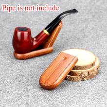 New Smoking Pipe Stand Green Sandal Wood Holder Smoking Pipe Holder Tobacco Pipe Stand Rack