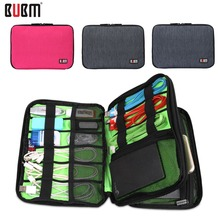 Waterproof Double Layer BUBM Travel Wire Storage Bag Electronic Accessories Tool Pouch Organizer Hard Drive Pen Data Cable Bag