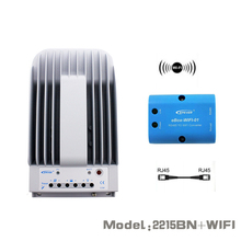 Tracer 2215BN + WIFI BOX Mobile Phone APP EPsloar 20A MPPT Solar Charge Controller communication