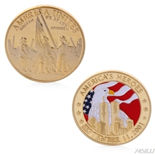 America's Heroes September 11 2011 Commemorative Challenge Coin Collection Gift G03 Drop ship(China)
