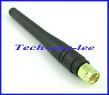 Free shipping 1 piece 2-3dbi 315MHZ antenna with SMA male plug straight connector