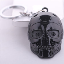 2015 Direct Selling Llaveros Llavero Europe And The Movie Terminator Alloy Key Ring Pendant Wholesale Man Mask Keychain Ebay Hot(China)