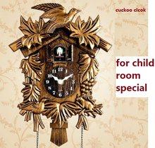 Cuckoo Clock Living Room Wall Clock Bird Cuckoo Alarm Clock Watch Modern Brief Children Unicorn Decorations Home Day Time Alarm(China)