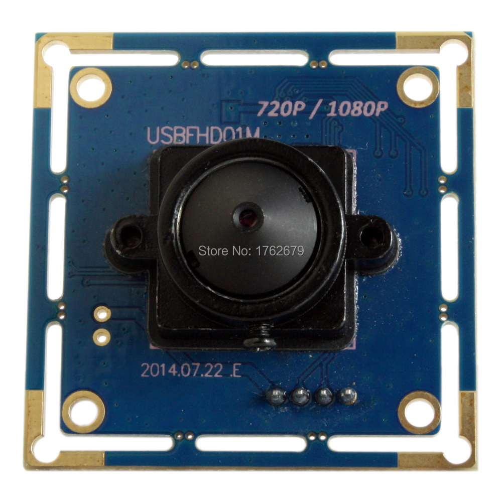 2megapixel 1920*1080 mini full hd USB 1080P camera module CMOS OV2710 MJPEG 30fps/60fps/120fps 3.7mm lens PCB Board<br>