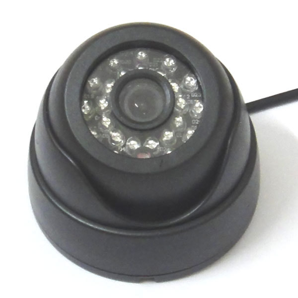 HD 1/3 800TVL CMOS Color IR CCTV Security Camera Dome Indoor Video 24 Leds D/N, 1080p wide angle Cam<br><br>Aliexpress
