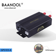 Hot Selling Baanool Car-styling Track GSM GPRS Gps Tracker tk103a Car Mini Tracking Device For Car gps tracker Free Shipping