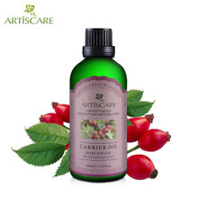 ARTISCARE 100% Natural Rose hip Base Oil 100ml Stretch Mark Anti Wrinkle Acne Scar Moisturizing Anti Aging Massage Carrier Oil(China)