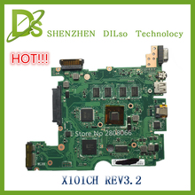 HOT!!!!For ASUS X101CH laptop motherboard X101CH mainboard REV3.2 100% tested freeshipping