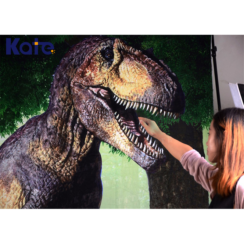 Kate 5X7FT Dinosaur Photo Background Fundo Dinosaur Rock Trees Children Backdrop 3D Baby Photography Backdrop Background <br>