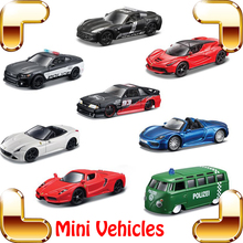 New Arrival Gift 1/64 Mini Metal Model Car Series Vehicle Scale Collection Nano Cars Kids Children Learning Present Tiny Toys(China)