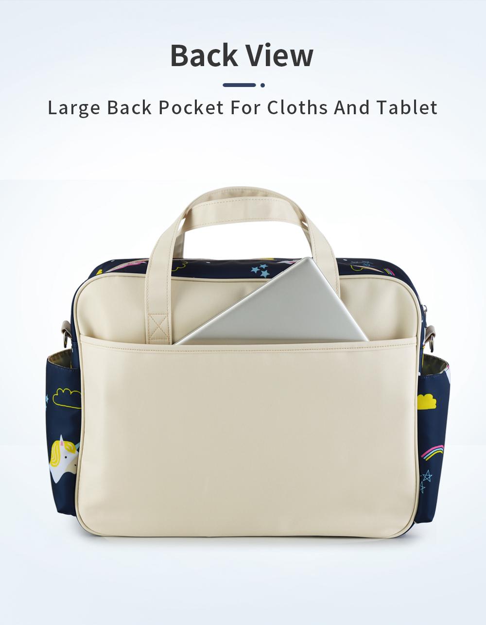 Waterproof Multifunctional Diaper Bag 8