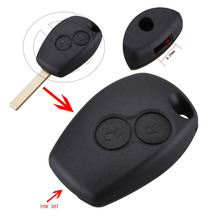 New Replacement 2 Button Key Fob Remote Shell Case Uncut For Renault Modus Clio 3 Twingo