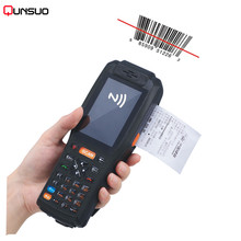 3.5 inch handheld data thermal 3G wireless Android 1D laser barcode scanner POS data collector PDA with bluetooth, Wifi,GPS(China)