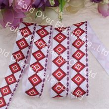 new product, Free shipping, 5/8''printed fold over elastic 100yards/lot,, heat transfer