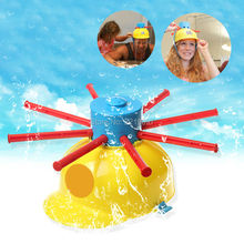 Hot Wet Head Game Funny Water Challenge Jokes Fun Toys Family Roulette Party Game Toy For Children Hat Desktop Outdoor Kids Gift