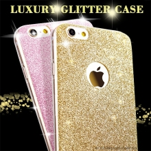 Luxury Fashion Glitter Bling Soft TPU Phone Cases For Apple iPhone 5 5S SE 6 6S 7 Plus 7Plus Shine Protector Cell Back Cover