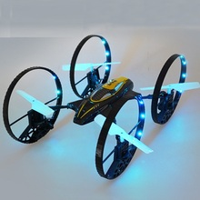 Air-ground Amphibious 4ch Rc Quadcopter CG041 A-Key return Headless Mode Helicopter 2.4G 360 Roll Long Range Flying Drone gifts(China)