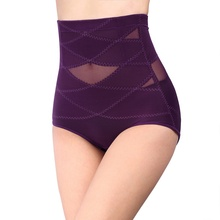 Ladies Slim Underwear Women Shapewear Briefs Thin Mid-lumbar Abdomen Hips Shapers Slimming Newest Control Panties(China)