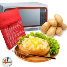 1 Piece Oven Baked Easy Potato Cooking Bag Washable Potato Cooker Cooking Tools(China)