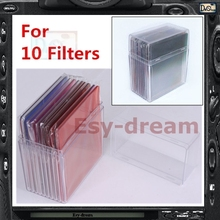 Plastic Filter Storage Holder Container Box Case for 10 Filters Cokin Tianya P Series System PA009