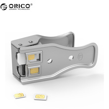 ORICO NSK-2U Sim Cards Cutters High Quality Universal 3 in 1 SIM/Micro/ Nano SIM Card Cutter For All Phone Cards(China)