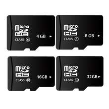 New promotion 16GB Class10 OEM Black Memory Card MicroSD 32GB 8GB 4GB Real Capacity Micro sd card TF Card 64GB(China)