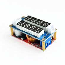 1PC 5A Adjustable Power CC/CV Step-down Charge Module LED Driver Voltmeter Ammeter Constant current constant voltage