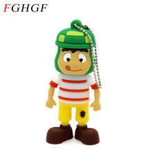 FGHGF cartoon Toy Genuine USB 2.0 Memory Stick USB Flash Drive Pendrive  8GB 16GB 32GB Pen drive Solid boy free shipping