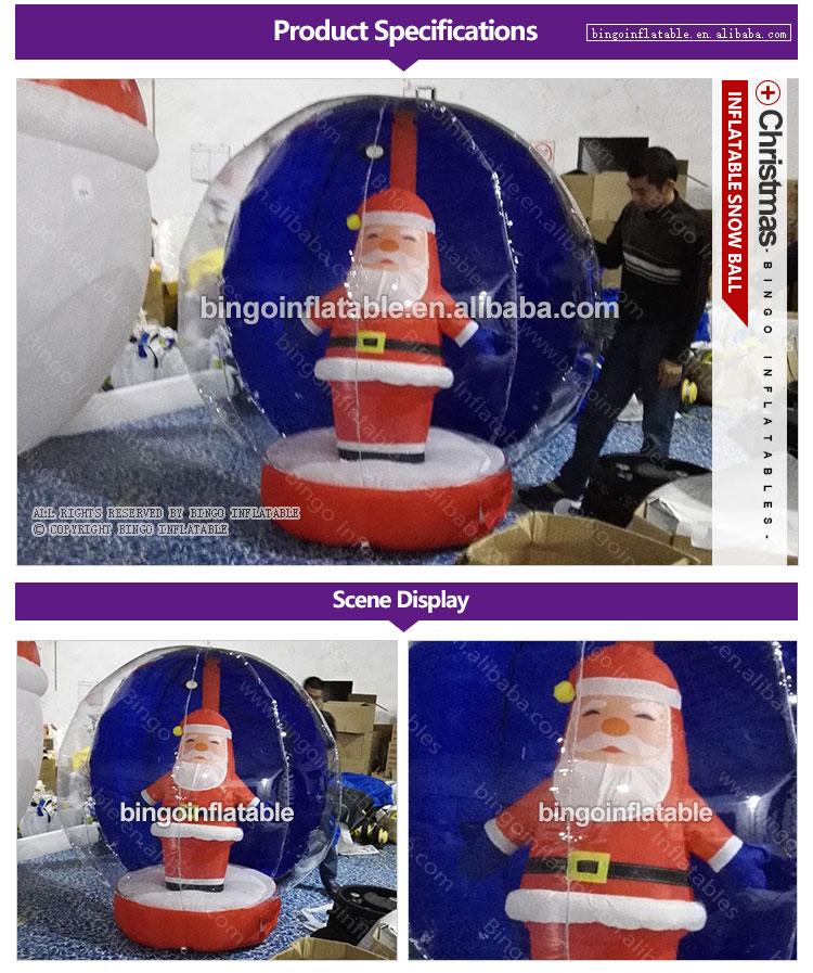 BG-A0919-Inflatable-Christmas snow ball-bingoinflatables