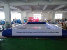 2016 hot sale Crazy price 8x5M swimming pool,pool manufacture,wholesale/retail inflatable new pool(China)