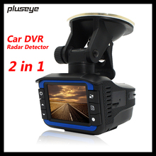 (with Russian Voice) 2 in 1 720P Car DVR Radar Detector Car Camera Recorder anti radar G-sensor Video Registrator car-detector