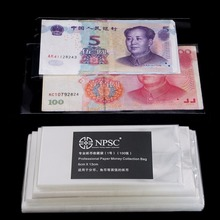 400 Pcs Professional Paper Money Stamp Collection Bag Protect Sleeves Holder New