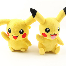 2017 New Pikachu Plush Go Plush Toy Cute Pikachu Soft Toy For Kids Baby Toys Doll Best Gift To Baby Kids(China)