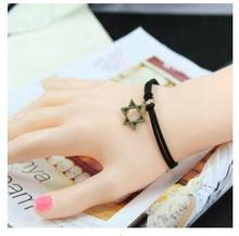 l230 (Pentacle bracelet) Korean version of the manual Harajuku couple girlfriends birthday gift bell bracelet couple bracelets